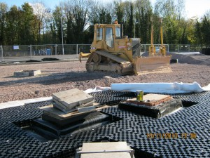Sub Base Replacement Drainage and Heating